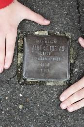 Stolperstein Albert Tobias
