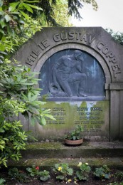 Das Familiengrab der Coppels wurde 1914 angelegt