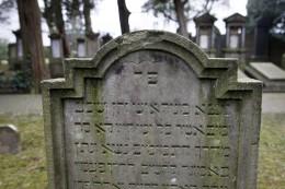 Grabstein von Samuel Coppel sen., gestorben am 23. April 1837