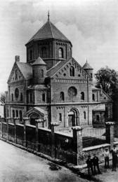 Synagoge an der Malteserstraße. Quelle: Stadtarchiv Solingen